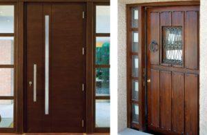 Diseño de puertas de madera