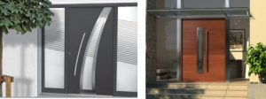Diseño de puertas exteriores