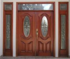 Puertas de madera interiores