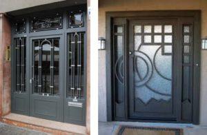 Puertas galvanizadas