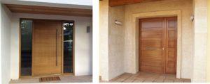Puertas para exterior