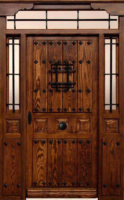 Herrajes puertas rusticas puertas 100 for Puertas de madera y hierro antiguas