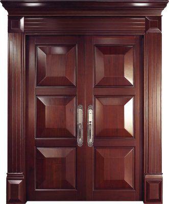 Puertas de entrada imponente y elegante puertas 100 for Puertas principales modernas de madera