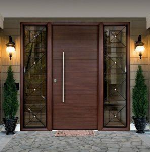 Puertas de Madera Casa y Diseño