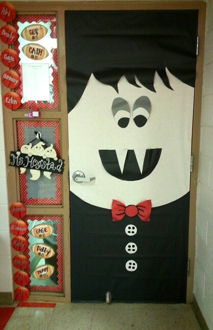 Puerta Niño Vampiro