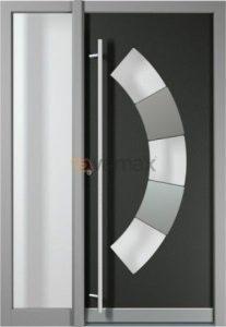 Puerta de Entrada en Aluminio Elegancia. Seguridad y Diseño