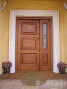 Puerta exterior asturias